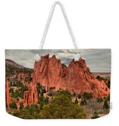 Pink Towers Of The Gods Weekender Tote Bag