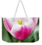 Pink Tulip - A Digital Painting Weekender Tote Bag