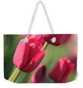 Pink Tulip Dream Birthday Card Weekender Tote Bag