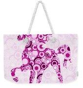 Pink Unicorn - Animal Art Weekender Tote Bag