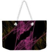 Pink Web Weekender Tote Bag