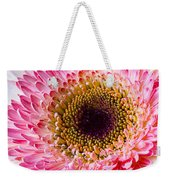 Pink White Daisy Weekender Tote Bag