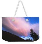 Pink Yellowstone Sunset Weekender Tote Bag