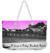 Pinky's Beachside Resort Weekender Tote Bag