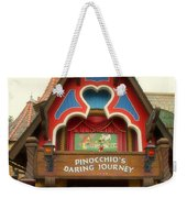 Pinocchio Daring Journey Fantasyland Disneyland Weekender Tote Bag