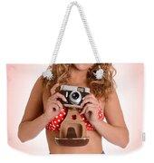 Pinup Photographer Weekender Tote Bag