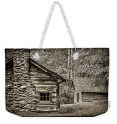 Pioneer Cabin And Shed In Cades Cove E227 Weekender Tote Bag