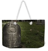 Pioneer Grave Weekender Tote Bag by Jean Noren