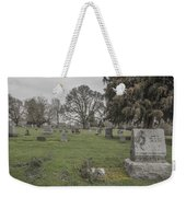 Pioneer Resting Place Weekender Tote Bag by Jean Noren