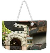 Pioneer Square Seattle Weekender Tote Bag