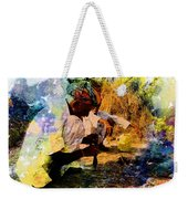 Pipe Smoking Ritual Chillum India Rajasthan 1 Weekender Tote Bag