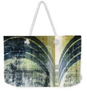 Piped Abstract Weekender Tote Bag