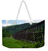 Pipeline Trestle Weekender Tote Bag