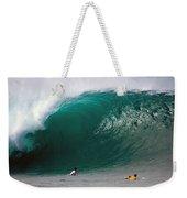 Pipeline Wave Hawaii Weekender Tote Bag