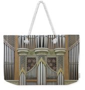 Pipes And Lattice Weekender Tote Bag