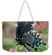 Pipevine Swallowtail Weekender Tote Bag