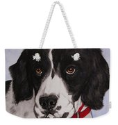 Pippy The Springer Spaniel Weekender Tote Bag