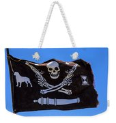 Pirate Flag With Skull And Pistols Weekender Tote Bag