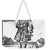 Pirate John Rackam, 1725 Weekender Tote Bag