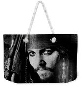Pirate Life - Black And White Weekender Tote Bag