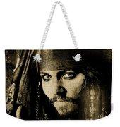 Pirate Life - Sepia Weekender Tote Bag
