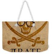 Pirate Math Nerd Humor Poster Art Weekender Tote Bag