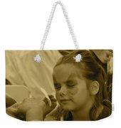 Pirate Princess Sepia Weekender Tote Bag