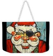 Pirate Santa Poster Weekender Tote Bag