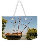 Pirate Ship Or Sailing Ship Weekender Tote Bag