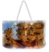Pirate Ship Photo Art Weekender Tote Bag