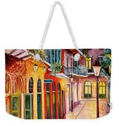 Pirates Alley By Night Weekender Tote Bag