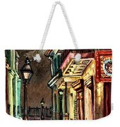 Pirate's Alley Evening Weekender Tote Bag