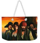 Pirates Of The Caribbean  Weekender Tote Bag