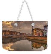Pisa On The Arno Weekender Tote Bag