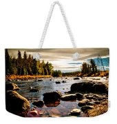 Piscataquis River Dover-foxcroft Maine Weekender Tote Bag