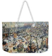 Pissarro's Boulevard Des Italiens In Morning Sunlight Weekender Tote Bag