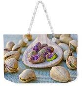 Pistachio Weekender Tote Bag