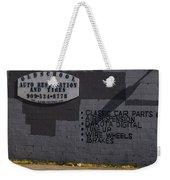 Pit Stop Weekender Tote Bag