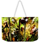 Pitcher Plant Abstraction Weekender Tote Bag