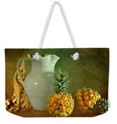 Pitcher With Pineapples Weekender Tote Bag
