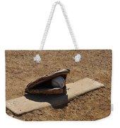 Pitchers Mound Weekender Tote Bag