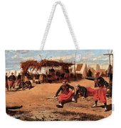 Pitching Quoits Weekender Tote Bag
