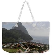 Pitons St. Lucia Weekender Tote Bag