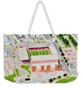 Pittodrie Stadia Art Weekender Tote Bag