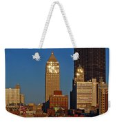 Pittsburg At Dusk Weekender Tote Bag