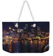 Pittsburgh After The Setting Sun Weekender Tote Bag