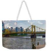 Pittsburgh Clemente Bridge Weekender Tote Bag
