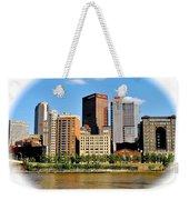 Pittsburgh Pa In The Spotlight Weekender Tote Bag