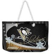 Pittsburgh Penguins Christmas Weekender Tote Bag