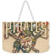 Pittsburgh Pirates Poster Vintage Weekender Tote Bag